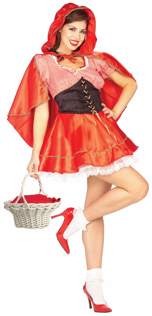 Womens Little Red Riding Hood Costume