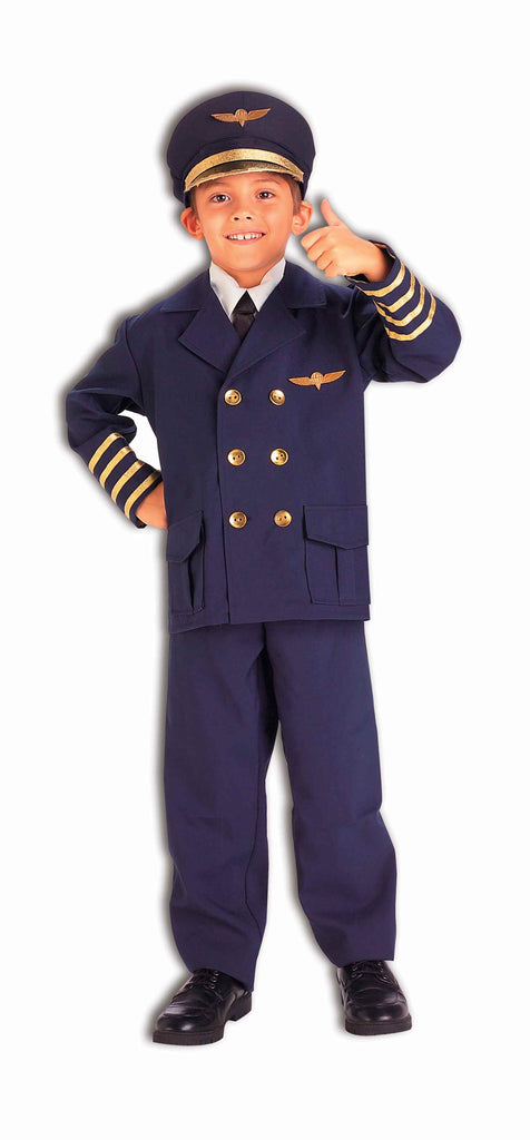 Halloween Costumes Kids Airline Pilot Costume