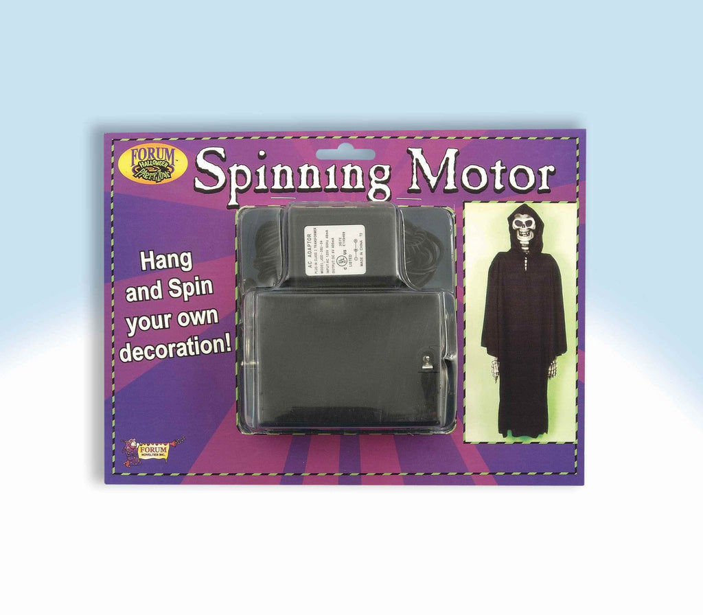 Spinning Motor for Halloween Decorations