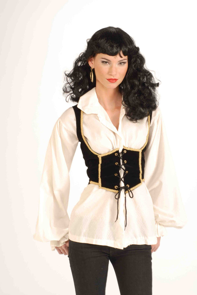 Pirate Costume Vests Women's Pirate Vest