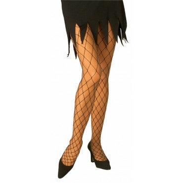 Diamond Net Tights - Various Colors