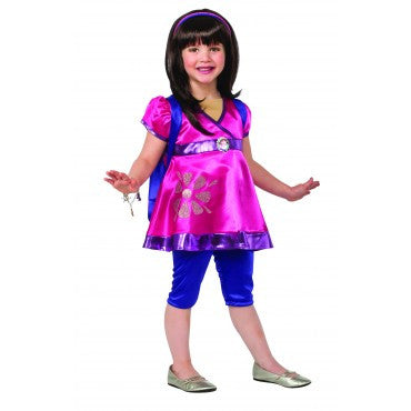 Girls Deluxe Dora Costume