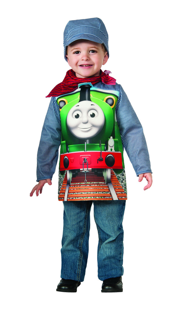 Thomas the Tank Deluxe Percy Train and  Engineer Costume