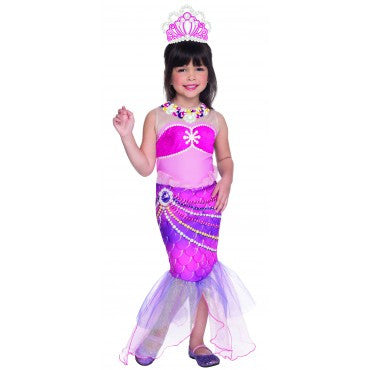 Girls Barbie Lumina Costume