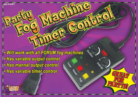 Halloween Fog Machine Timer Control