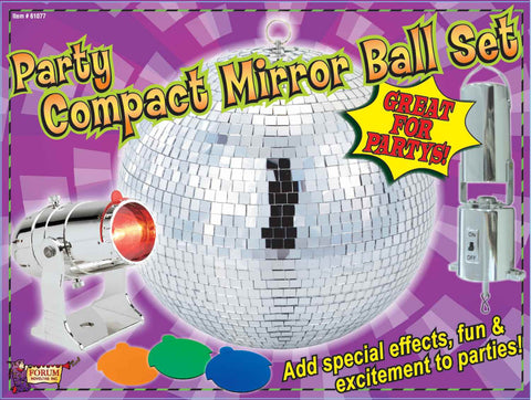 Halloween Lights Hanging Mirror Ball Party Set