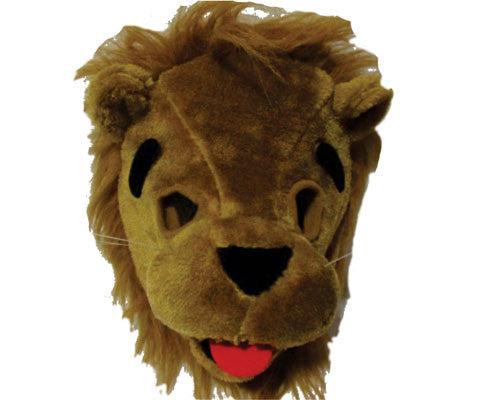 Plush Lion Mask