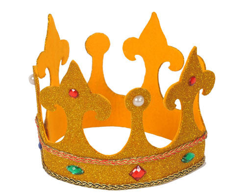 Tall Gold Royalty Crown