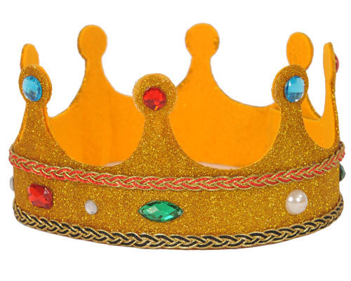 Gold Royalty Crown