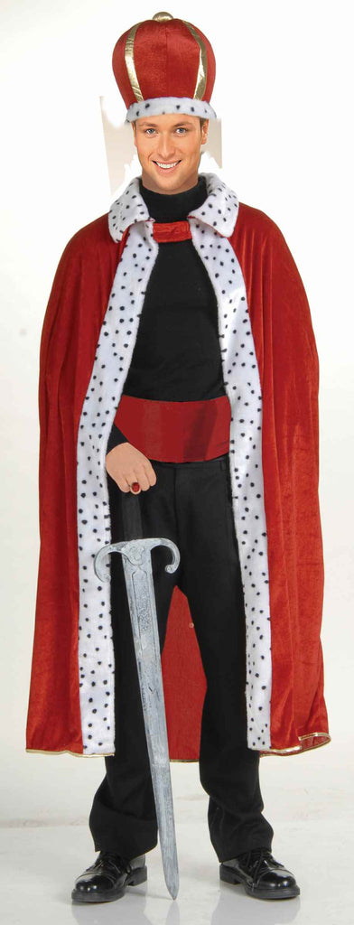 King Halloween Costumes Red King Costume Adult