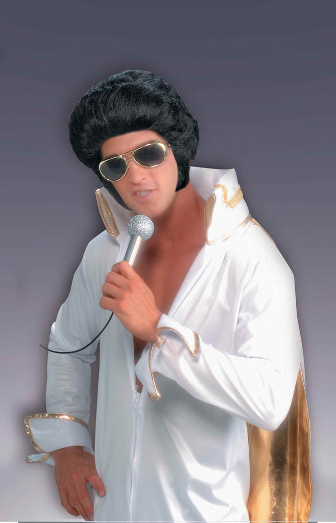 Halloween Wigs 50's Rock Star Wig Costume Kit