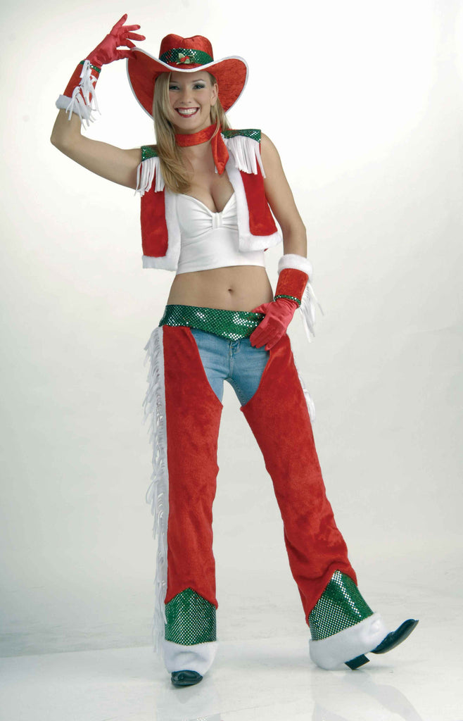 Sexy Christmas Cowgirl Costume for Women