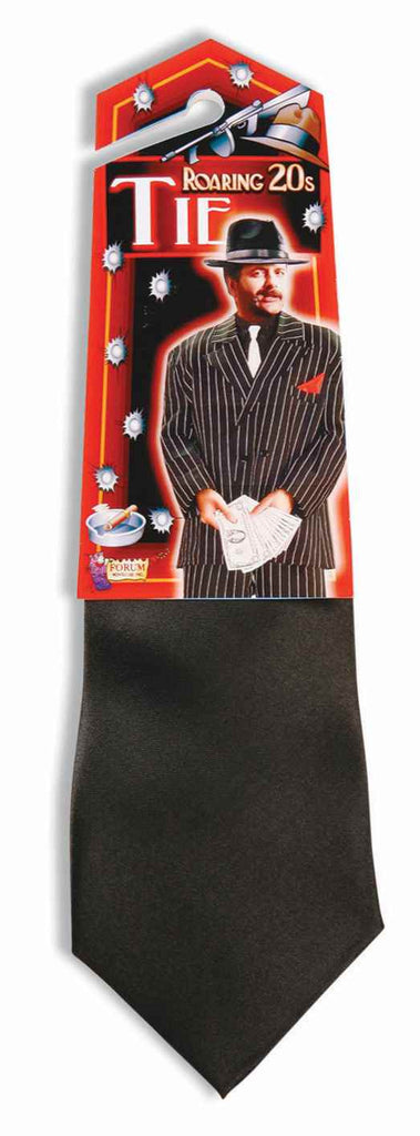 Gangster Costume NeckTies Black