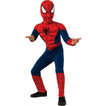 Boys Deluxe Spider-Man Costume