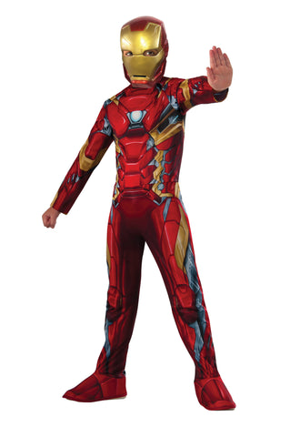 Boys Avengers Iron Man Costume