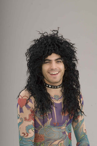 80's Rock Star Wig - Various Colors