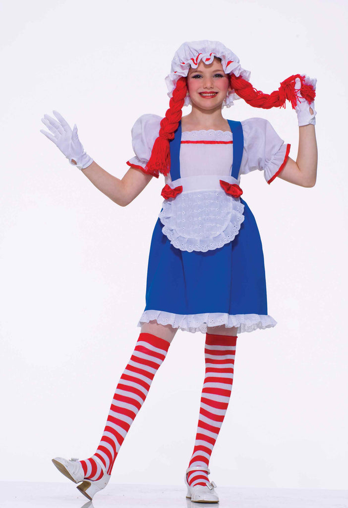 Halloween Costumes Girls Rag Doll Costume