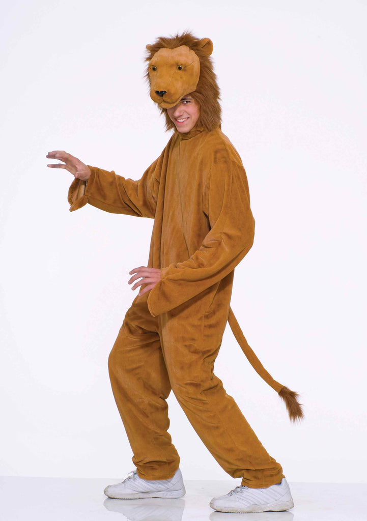 Lion Costumes Adult Lion Halloween Costume Deluxe