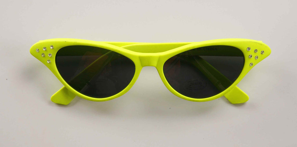 Fifties Gal Yellow Neon Shades