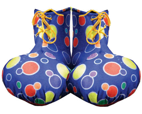 Kids Clown Shoe Covers - Various Colors