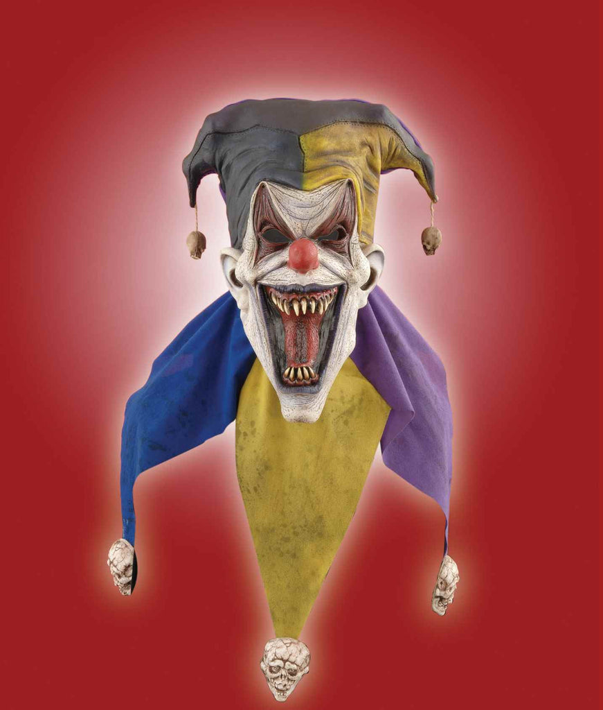 Halloween Masks Scary Jester Costume Mask