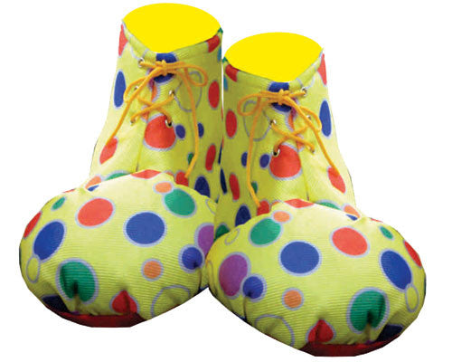 Adults Clown Shoe Covers - Various Colors