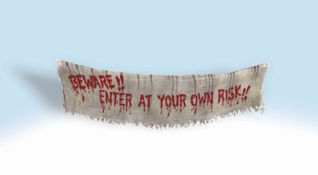 Halloween Banners Beware!! Scary Banner
