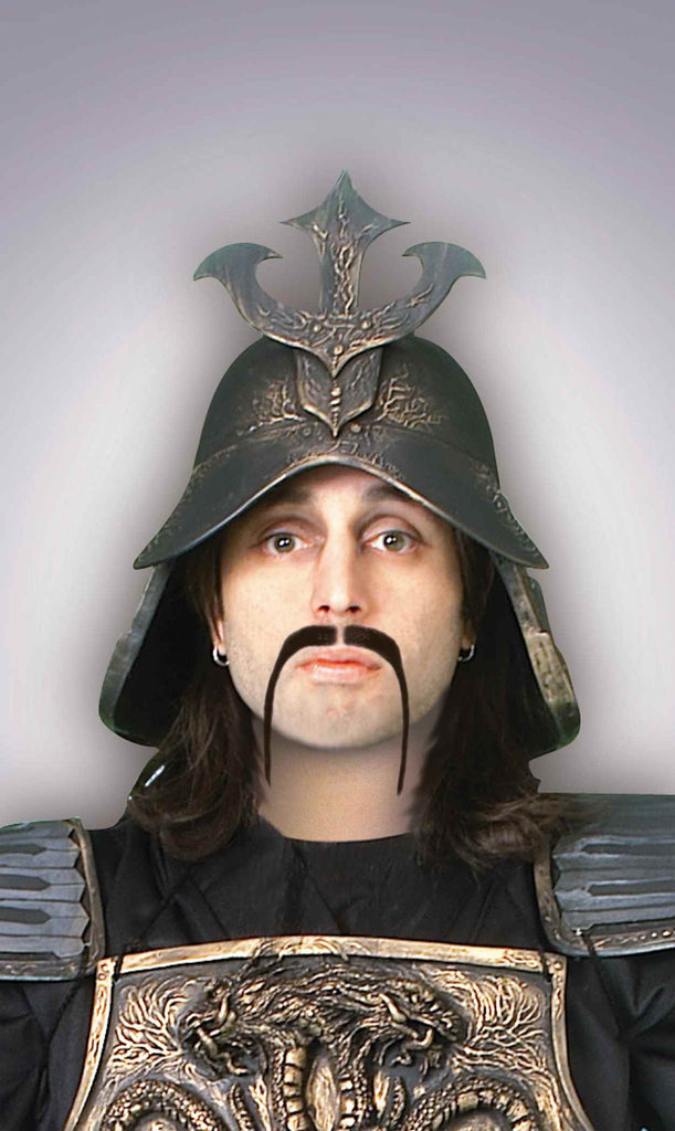 Warrior Moustache-Black