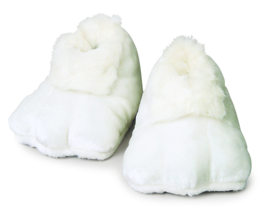 White Bunny Feet Shoes