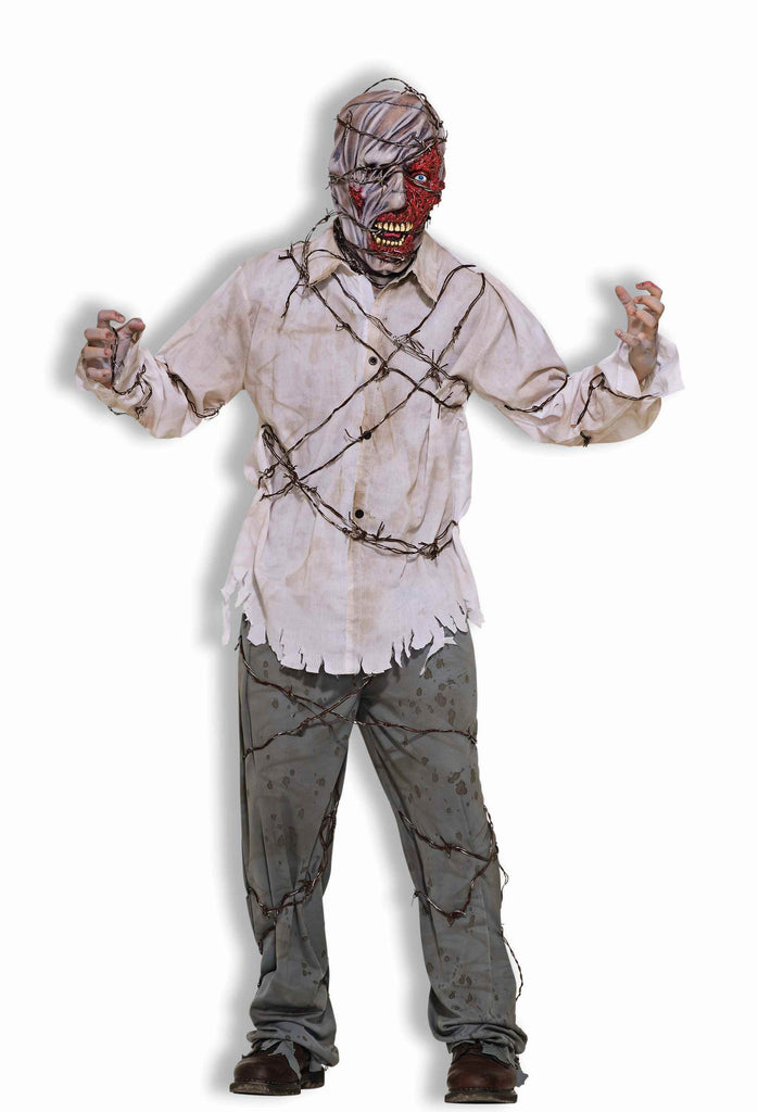 Zombie Costumes Barb Wire Zombie Adult