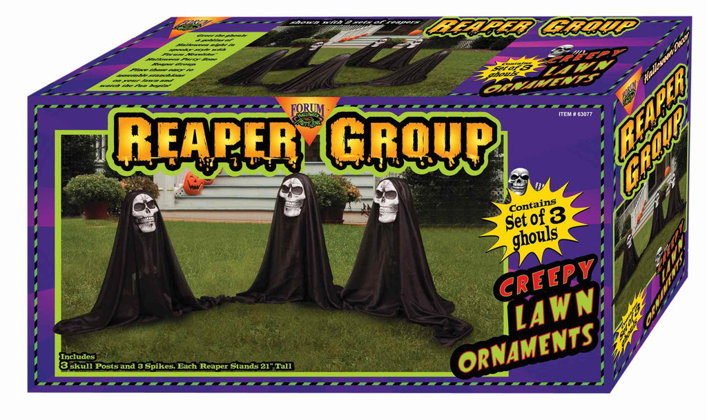 Grim Reapers Yard Decoration 3