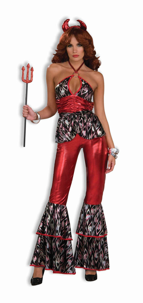 Disco Devil Woman Halloween Costume
