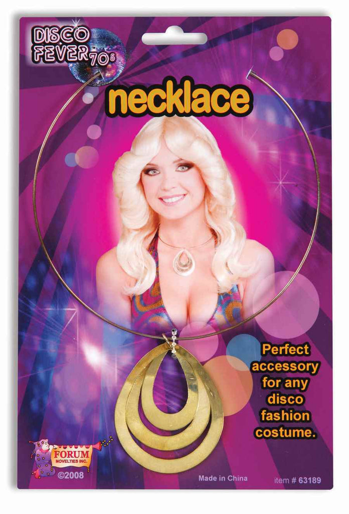 Disco Queen 70's Costume Necklace