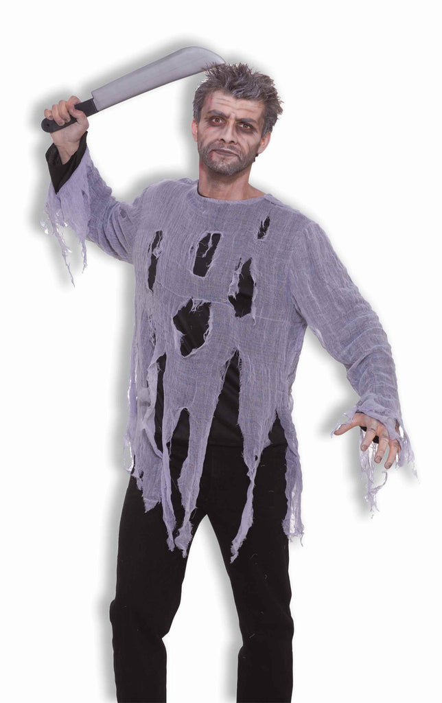 Zombie Costume Shirt Adult Size