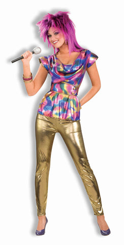 Halloween Costumes Eighties Glam Rock Woman