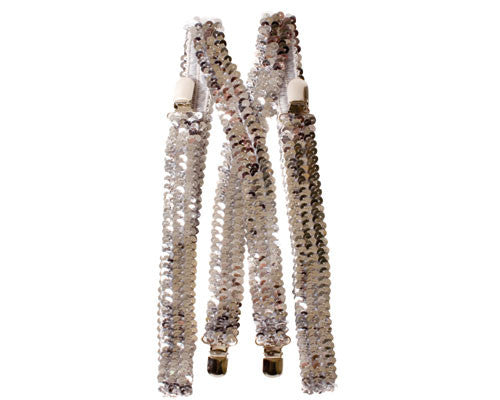Sequined Suspenders - Various Colors