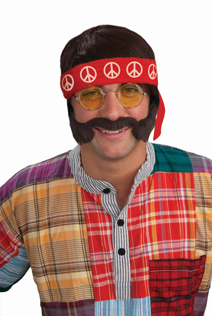 Halloween Hippie Man Costume Kit