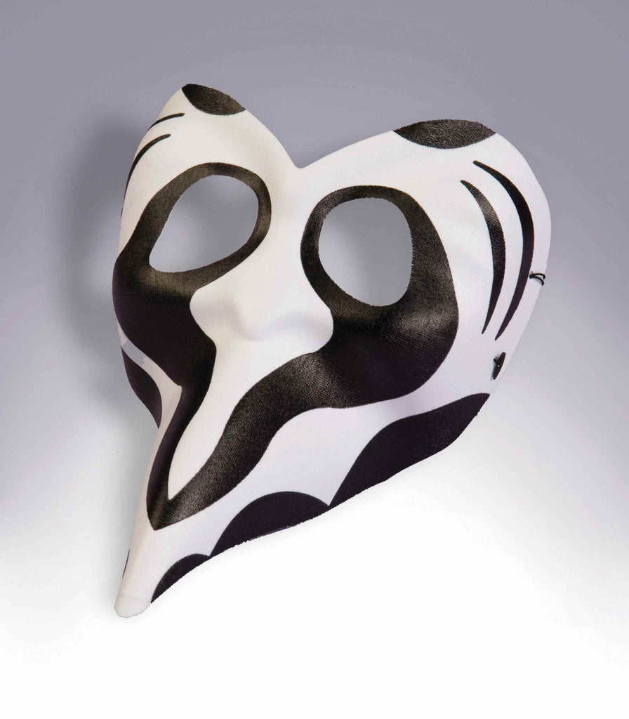 Masquerade Masks Black/White Mask