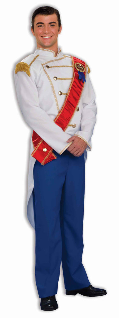 Men's Prince Charming Fairy Tale Costume