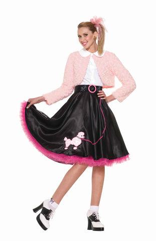 Women's Pretty 50's Gal Holloween Costume
