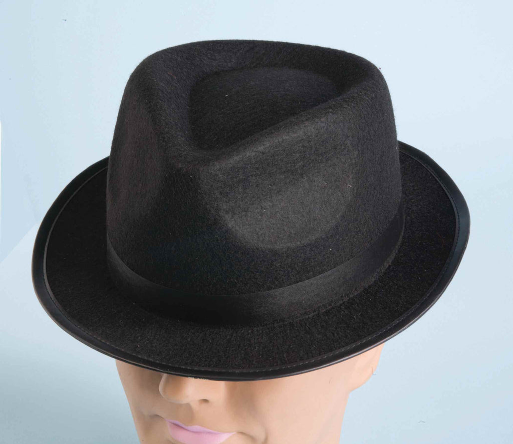 Costume Hip Hop Fedora No Feather