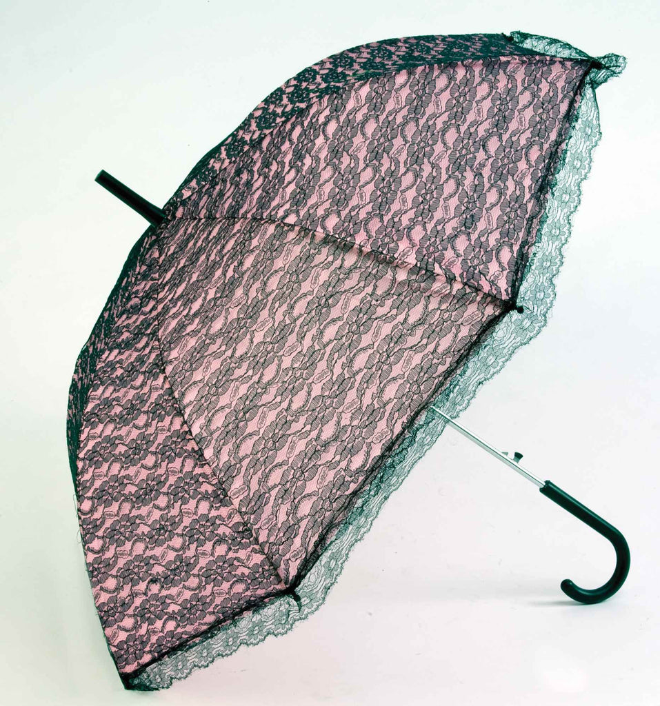 Lace Umbrella-Black