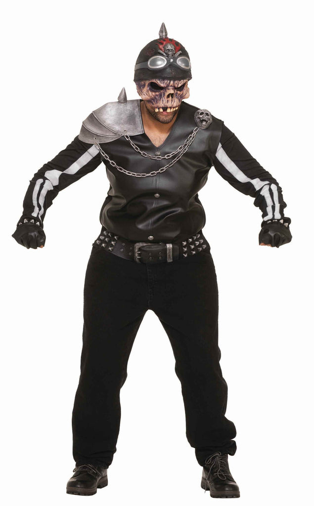 Halloween Zombie Biker Adult's Costume