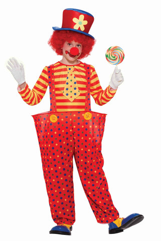 Kids Hoopy The Clown Costume
