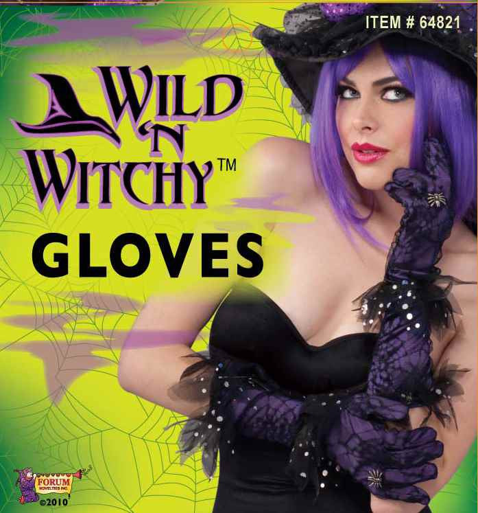 Women's Witch Costume Gloves