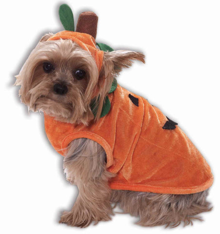 Pet Pumpkin Halloween Costumes Dogs or Cats