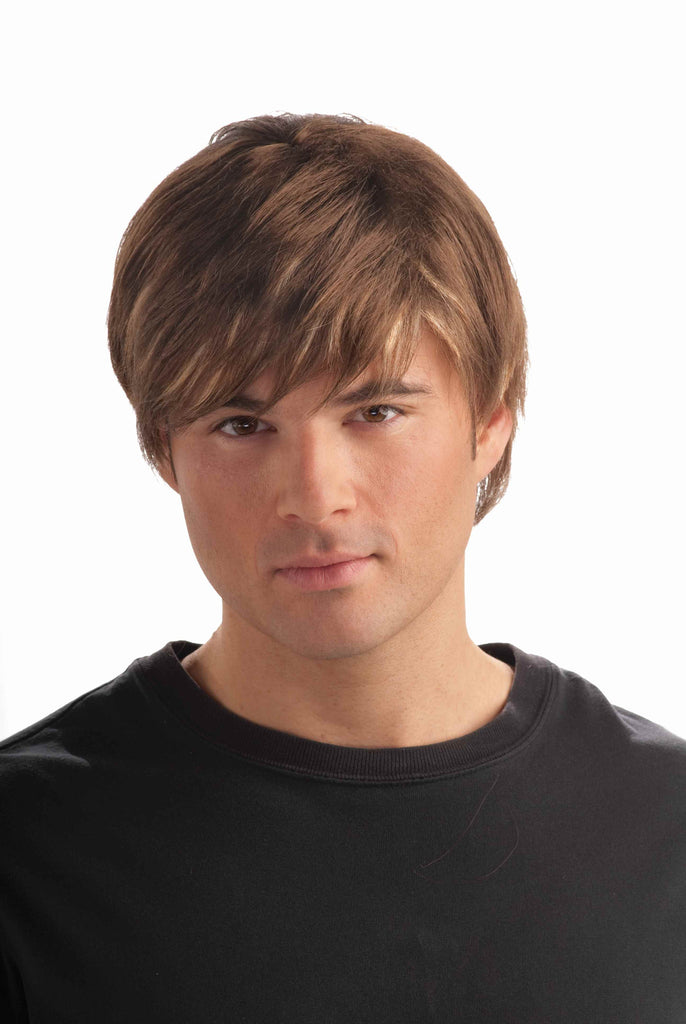 Eighties Wigs Men's Movie Star Wig