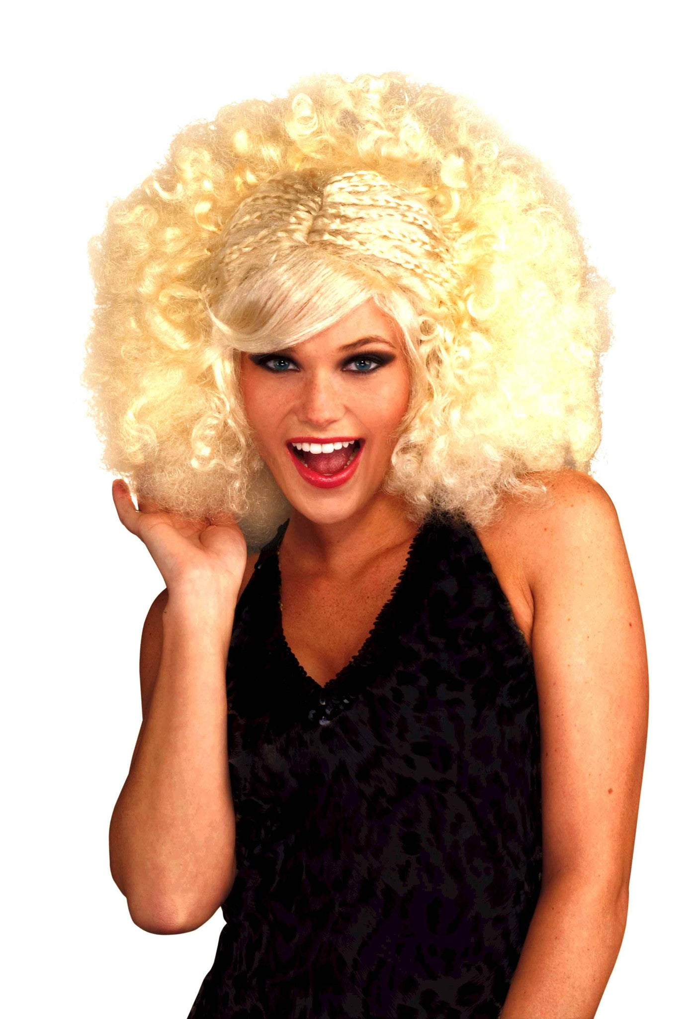 Funky Pop Afro Wig - Various Colors