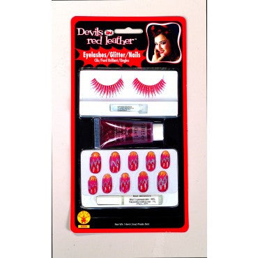 Devil in Red Makeup Kit
