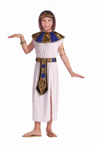 Girl's Cleopatra Costumes Queen Cleo Child